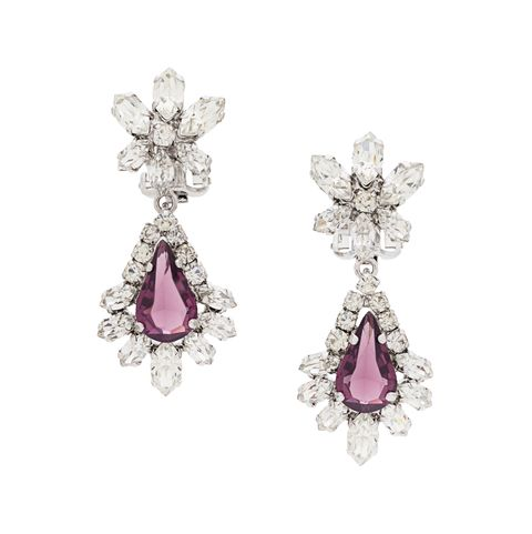 Jewellery, Earrings, Body jewelry, Fashion accessory, Gemstone, Diamond, Silver, Crystal, Amethyst, Platinum,