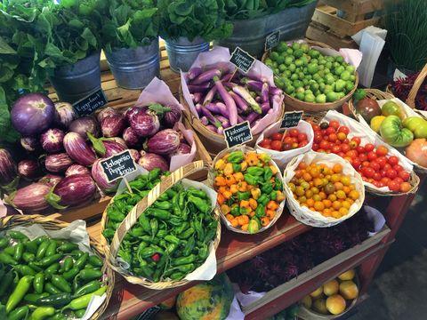 farm fresh vegetables for a healthy life style