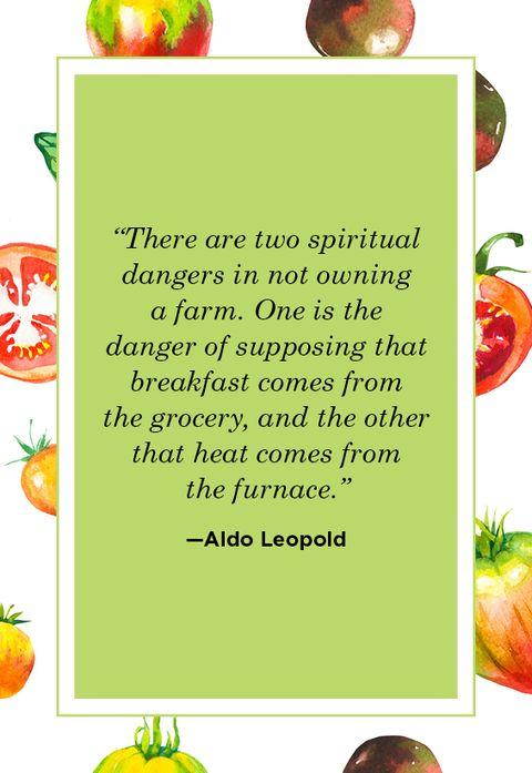 Farm Quotes Aldo Leopold