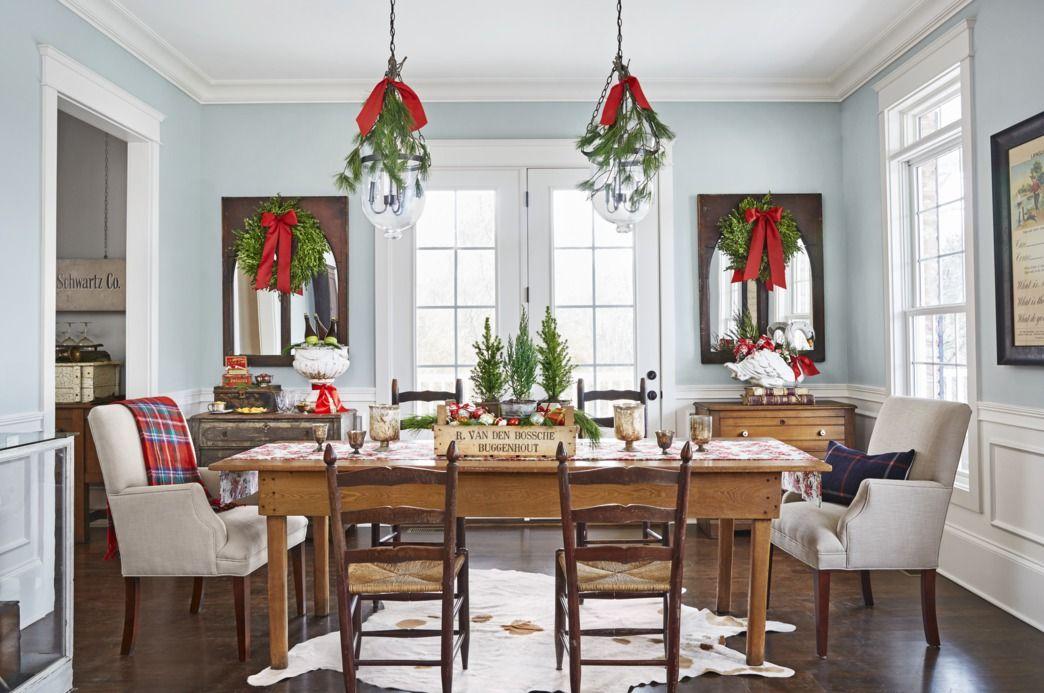 31 Farmhouse Christmas Decorating Ideas Diy Holiday