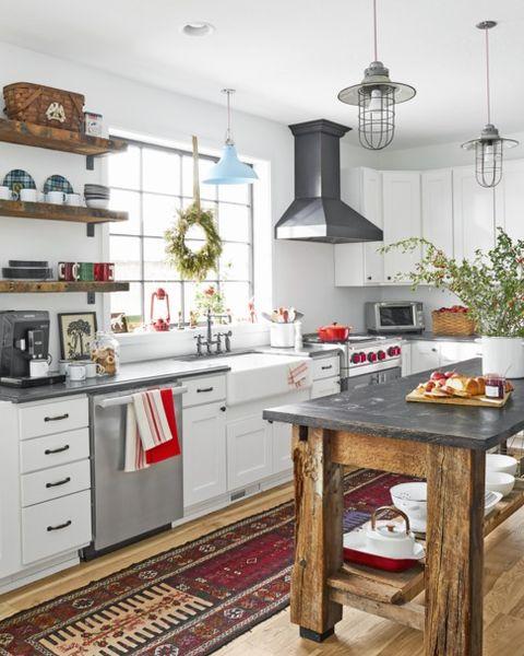 Kitchen Christmas Decorations Ideas.31 Farmhouse Christmas Decorating Ideas Diy Holiday