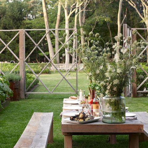 garden outdoor dining table