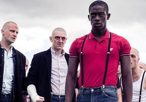 Damson Idris interprets Adewale Akinnuoye-Agbaje in 'Farming'