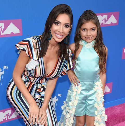 Farrah is mother to a 10 year old daughter.