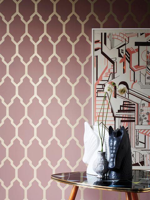 Farrow Ball Launch New Metallic Wallpapers Farrow And