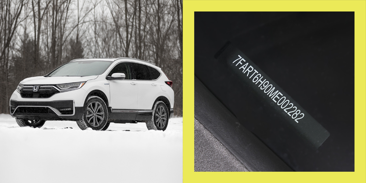 Every Honda CR-V Hybrid Comes with a Fart Joke in Its VIN