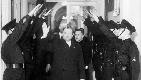 anton mussert in amsterdam, 1934