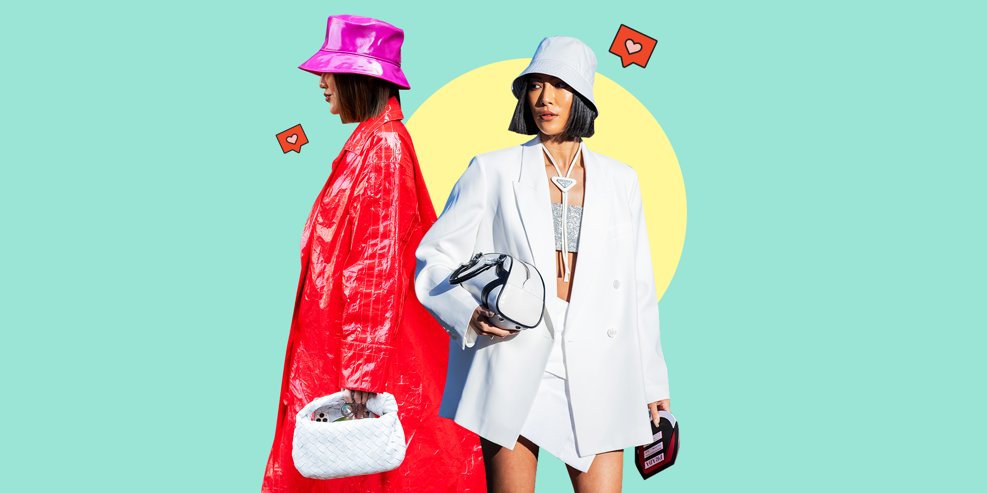 The Cute Bucket Hat Trend Is Everywhere Right Now