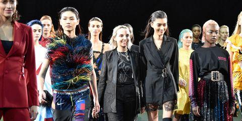Koche : Runway - Paris Fashion Week Womenswear Fall/Winter 2019/2020