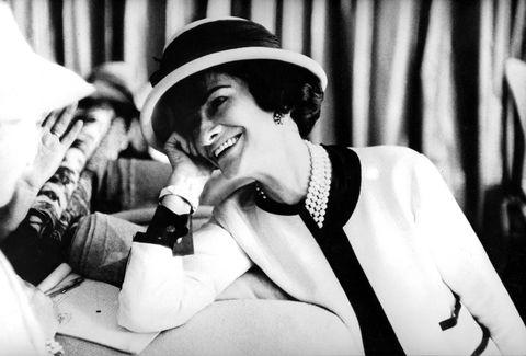 fashion designer coco chanel 1883 1971 , c early 50's