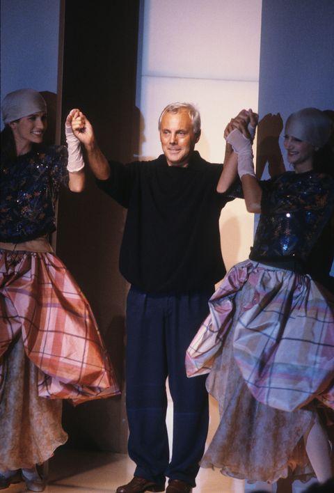 giorgio armani, armani, armani exchange, power suit, 80西裝,副牌,好萊塢,時尚,時尚設計師,權力套裝,紅毯造型,設計師,電影造型,凱特布蘭琪,茱蒂佛斯特,茱莉亞羅勃茲,美國舞男giorgio armani