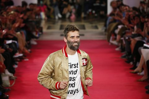 Lutz Huelle : Runway - Paris Fashion Week Womenswear Spring/Summer 2019