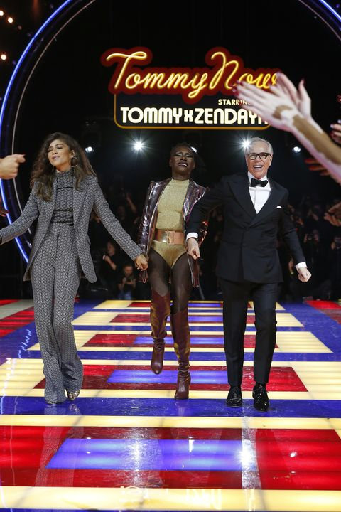 68032b1a Tommy Hilfiger TOMMYNOW Spring 2019 : TommyXZendaya Premieres : Runway At  The Theatre Des Champs Elysees