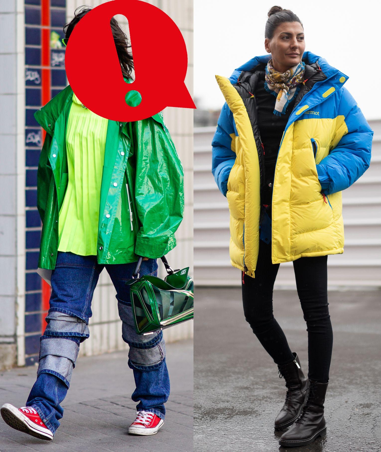 Arriva l'inverno 2019, i primi veri freddi e i weekend sulla neve e la giacca a vento diventa obbligatoria: oversize, caldissima ad alto rischio Fashion Disaster: gli errori da non fare e gli abbinamenti da medaglia.