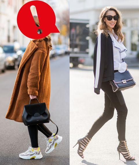 I leggings fuori dalla palestra sono autentici Fashion Disaster: come fare abbinamenti top senza commettere errori flop a partire dalle sneakers e dalla tuta da ginnastica da evitare.