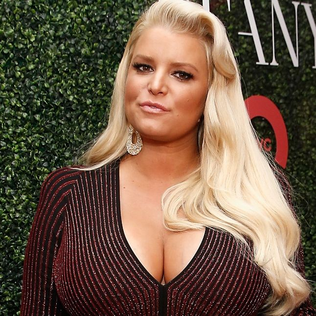 Jessica Simpson Shares Photo Exercising In A 'Rubber Corset' After Giving Birth 2 Months Ago