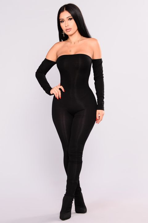 Kylie Jenner S Fashion Nova Black Jumpsuit Is Just 25 And Still Available To Buy