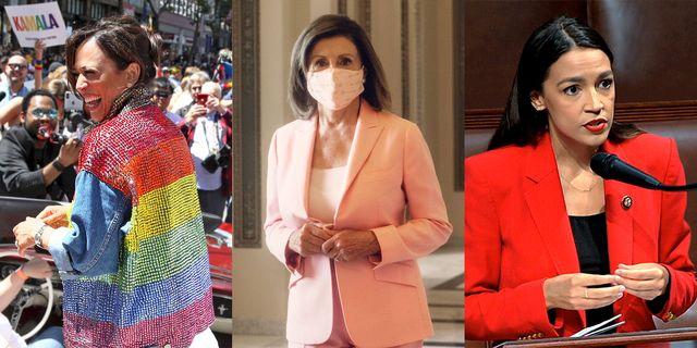 fashion politics 1120 kamalaharris nancypelosi alexandriaocasiocortez