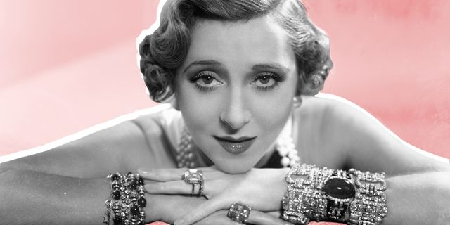 13th november 1936 french singer and actress yvonne printemps 1894   1977, sporting diamond bracelets and a bewitching gaze photo by sashagetty images