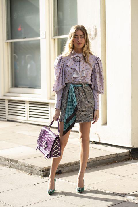 5687d54a4 How To Wear A Plaid Skirt - Tartan Skirt Ideas