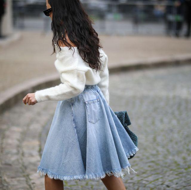 gonne jeans tendenza denim estate 2021
