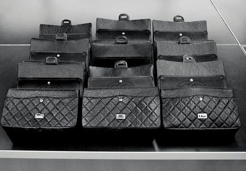 Black, Monochrome, Parallel, Monochrome photography, Black-and-white, Composite material, Baggage, Outdoor shoe, Mesh, Synthetic rubber,