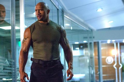 dwayne johnson, fast and furious 8
