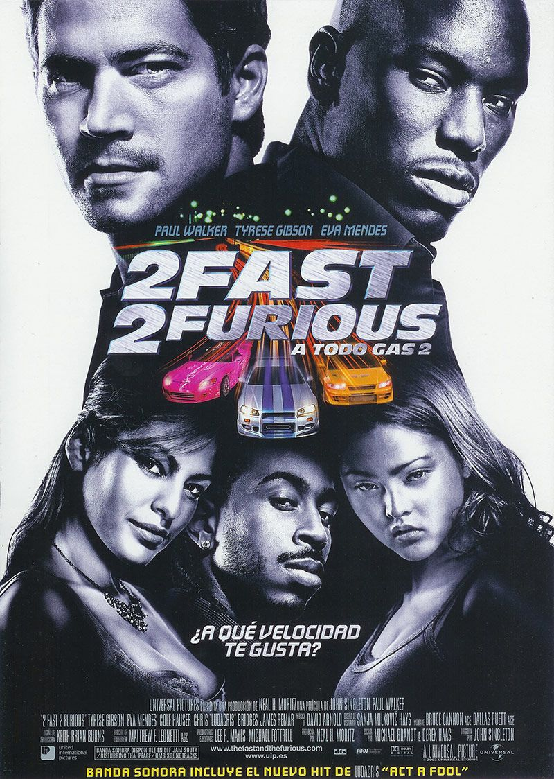Fast And Furious Ranking De Todas Las Películas De La Saga