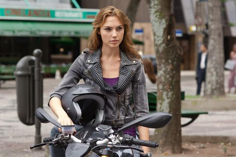 gadot en la saga 'fast and furious'
