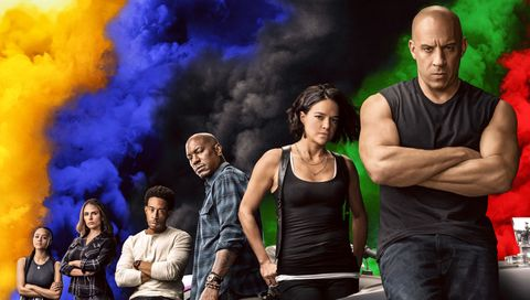 póster de fast and furious 9