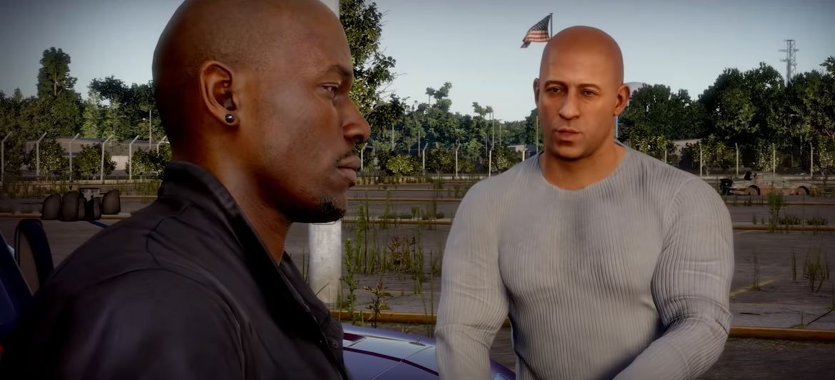 Vin Diesel, Michelle Rodriguez and Tyrese Gibson star in Fast & Furious video game first-look trailer