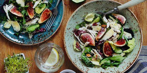 Dish, Food, Cuisine, Salad, Ingredient, Vegetable, Zucchini, Vegetarian food, Spinach salad, Produce,
