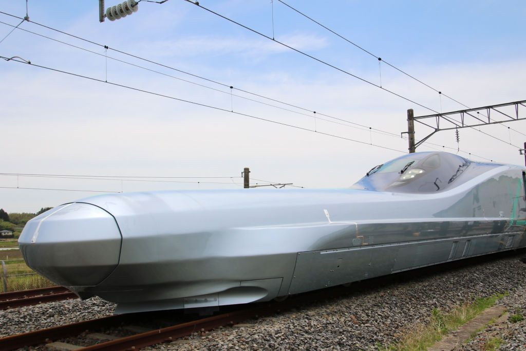 Japan's New Bullet Train Can Hit 224 MPH