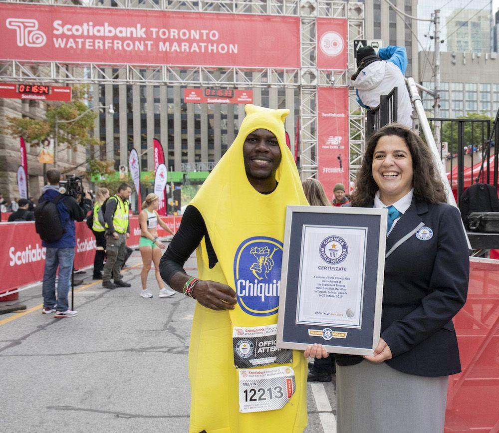 14 Wild World Records Set at Toronto Marathon