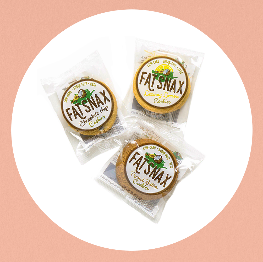 You Can Finally Buy Keto-Friendly Fat Snax Cookies In Person