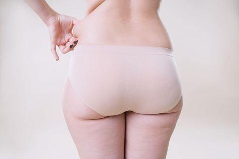 Waist, Clothing, Undergarment, Briefs, Skin, Thigh, Abdomen, Stomach, Leg, Joint,