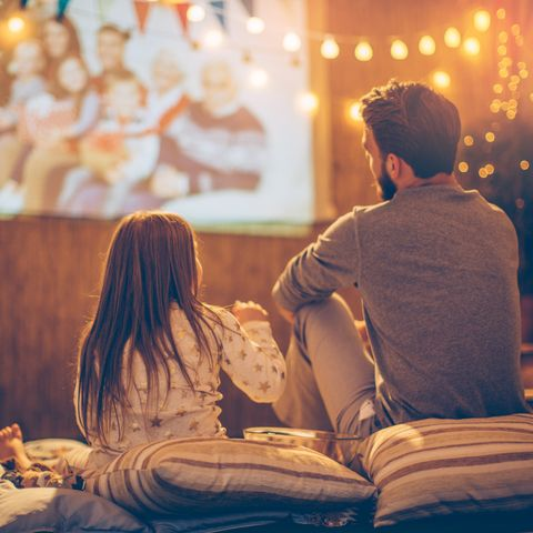 quarantine fathers day ideas   movie date