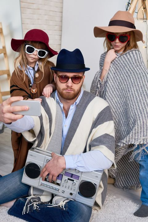 family halloween costumes hipsters