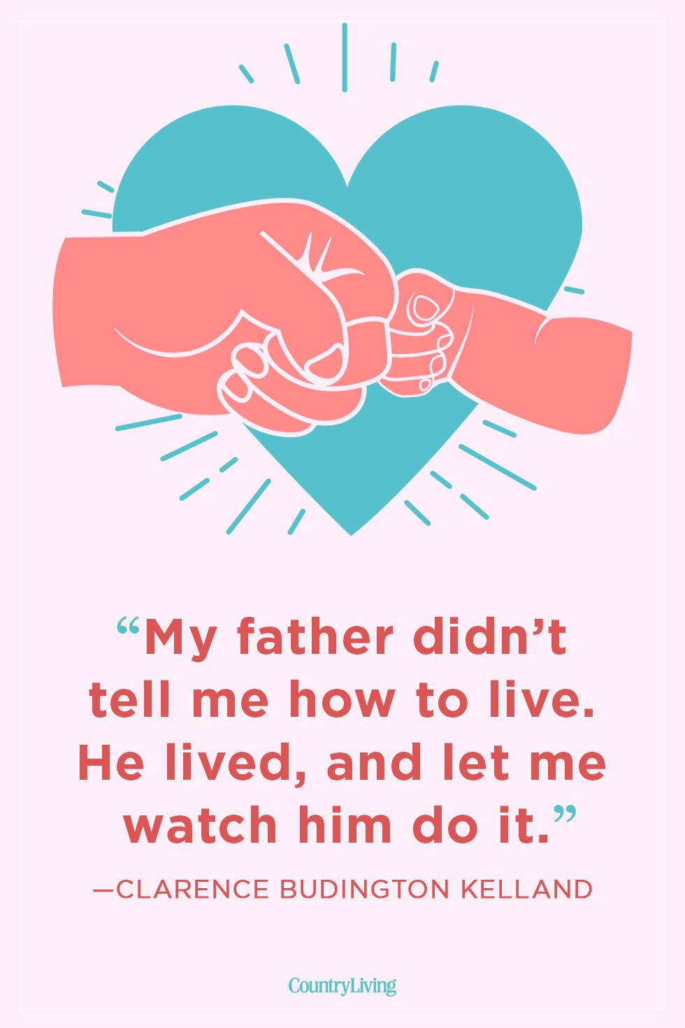 Clarence Budington Kelland father daughter quote