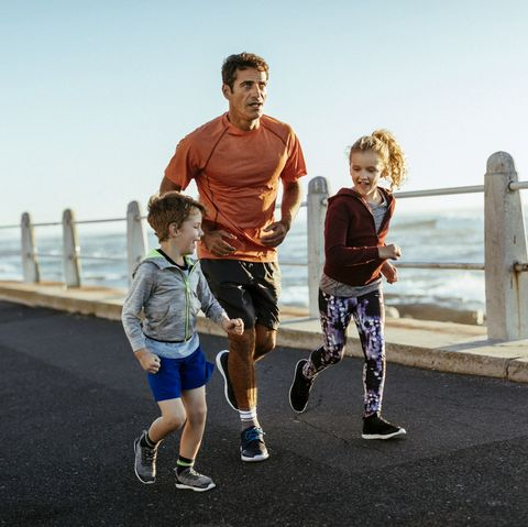 how to run with kids
