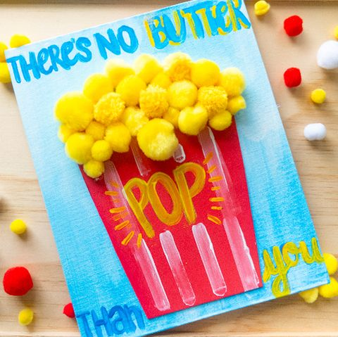 no butter pop father's day craft