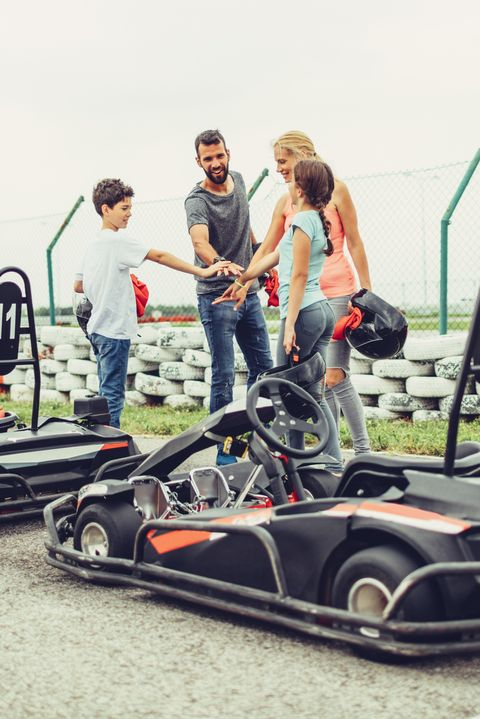 Father's Day Activities Go-Karts