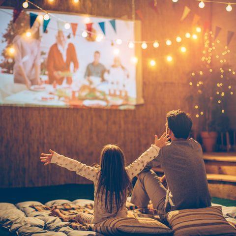 father day activities backyard movie night