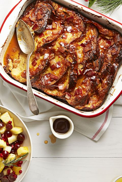 Father's Day Brunch Bacon French Toast Bake