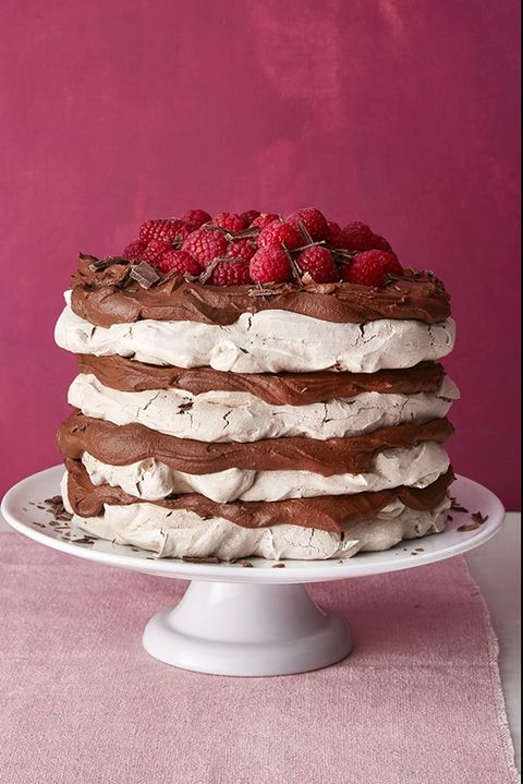 fathers day cakes chocolate meringue layer cake