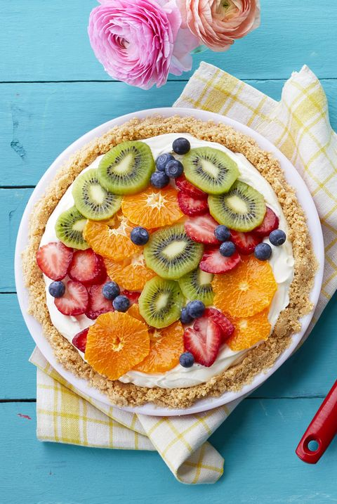 Father's Day Cakes - Fresh Fruit Cheesecake Pie