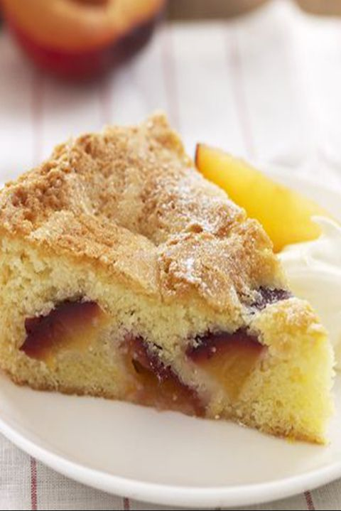fathers day cakes peach and plum almond cake