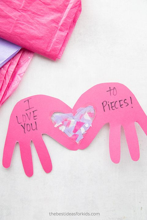 fathers day card ideas  love  you to pieces card