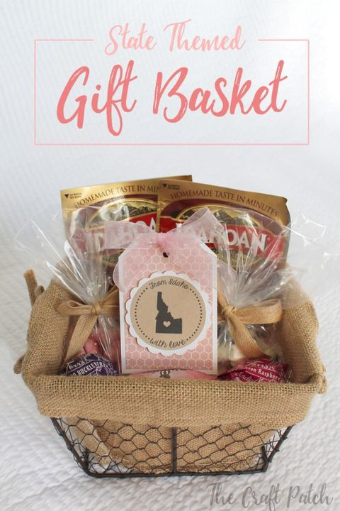 fathers day gift basket state themed