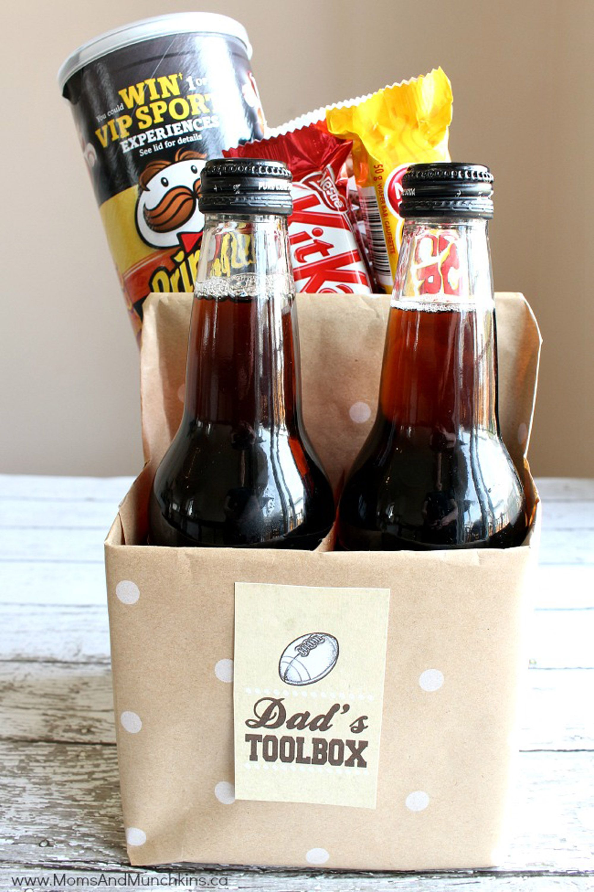 13 DIY Fathers Day Gift Baskets